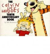 book cover of The Calvin and Hobbes tenth anniversary book by Bill Watterson