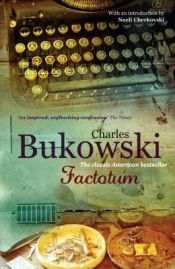 book cover of Alt forefaldende arbejde (Factotum) by Charles Bukowski