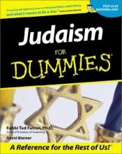 book cover of Judaism For Dummies by David Blatner