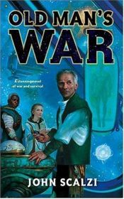 book cover of Old Man's War by John Scalzi