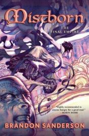 book cover of Mistborn: The Final Empire by Brandon Sanderson