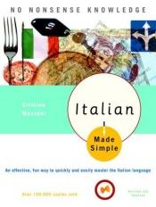 book cover of Italian made simple by Cristina Mazzoni
