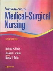 book cover of Introductory Medical-Surgical Nursing by Barbara K. Timby