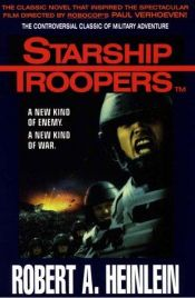 book cover of Starship Troopers by Robert A. Heinlein