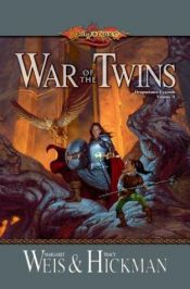 book cover of War of the Twins by Margaret Weis