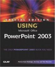 book cover of Special Edition Using Microsoft Office PowerPoint 2003 by Patrice-Anne Rutledge