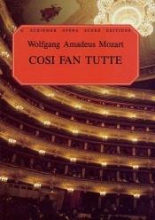 book cover of Cosi fan Tutte, K. 588 by Ruth and Thomas Martin