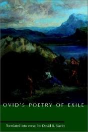 book cover of Ovid's poetry of exile by Ovid