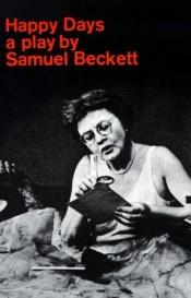 book cover of Giorni felici by Samuel Beckett