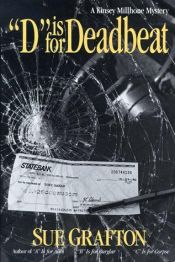 "book cover of ""D"" Is for Deadbeat by スー・グラフトン"