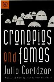book cover of Cronopios and famas by Julio Cortazar