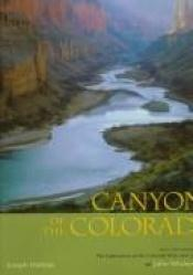 book cover of Canyons of the Colorado by Joseph Holmes