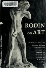 book cover of Rodin on Art and Artists (Fine Art Series) by Auguste Rodin