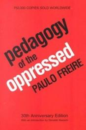 book cover of La pedagogia degli oppressi by Paulo Freire