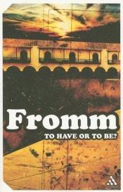 book cover of At have eller at være by Erich Fromm