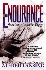 book cover of Endurance: Shackleton's Incredible Voyage by Alfred Lansing
