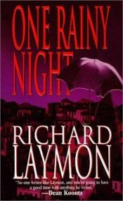 book cover of One Rainy Night (1990) by Richard Laymon