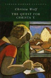 book cover of Nadenken over Christa T by Christa Wolf