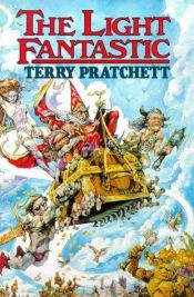 book cover of The Light Fantastic by Terry Pratchett