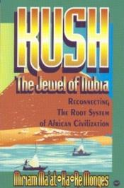 book cover of Kush, the Jewel of Nubia: Reconnecting the Root System of African Civilization by Miriam Ma'At-Ka-Re Monges