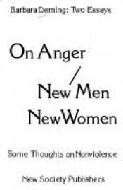 book cover of On Anger by Barbara Deming