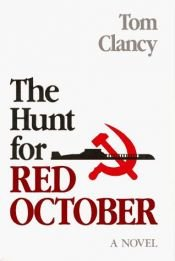 book cover of The Hunt for Red October by Tom Clancy