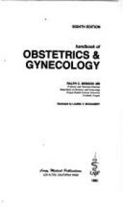 book cover of Handbook of Obstetrics and Gynecology by Ralph C. Benson