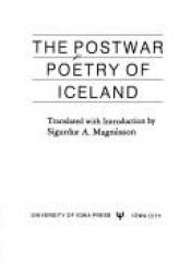 book cover of The Postwar Poetry of Iceland (Iowa Translations) by Sigurdur A. Magnusson