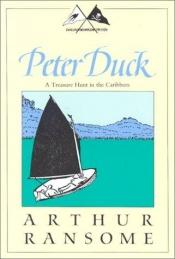 book cover of Peter Duck: A Treasure Hunt in the Caribbees (Swallows and Amazons 3) by Arthur Ransome