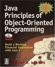 book cover of Java Principles of Object Oriented Programming by Jeffry A. Borror