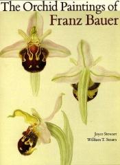 book cover of The orchid paintings of Franz Bauer by Joyce Stewart