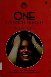 book cover of One is a whole number (The Family concern series) by Barbara Sroka