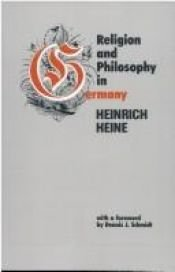 book cover of Religion and Philosophy in Germany by Heinrich Heine