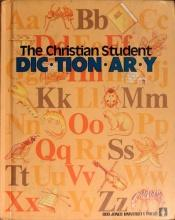book cover of The Christian student dictionary by