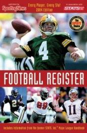 book cover of Pro Football Register by Sporting News
