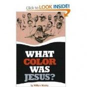 book cover of What Color Was Jesus?: A Mad Economist Takes a Stroll by William Mosley