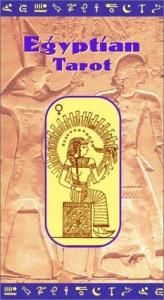 book cover of Egyptian Tarot Deck by C. Compe