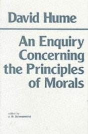 book cover of An Enquiry Concerning the Principles of Morals by David Hume