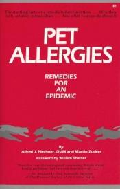 book cover of Pet Allergies by Alfred Plechner