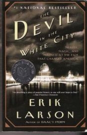 book cover of Devil in the White City by Erik Larson