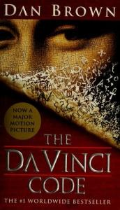 book cover of The Da Vinci Code by Dan Brown