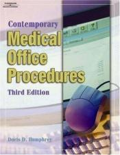 book cover of Contemporary medical office procedures by Doris Humphrey