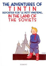book cover of Tintin nel paese dei Soviet by Herge