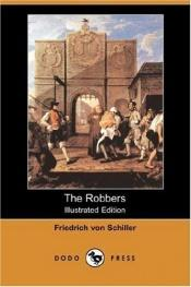 book cover of The Robbers (Illustrated Edition) by Friedrich Schiller