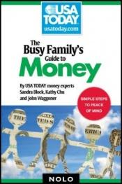 book cover of The busy family's guide to money by Sandra Block