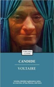 book cover of Candide and Zadig by Voltaire