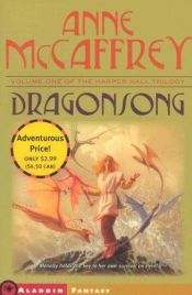 book cover of Dragonsong by Anne McCaffrey