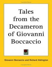 book cover of The tales from the Decameron by Giovanni Boccaccio