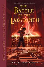 book cover of Percy Jackson and the Battle of the Labyrinth by Robert Venditti