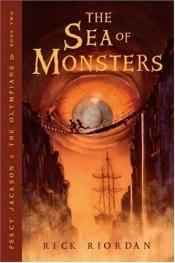 book cover of The Sea of Monsters by Rick Riordan